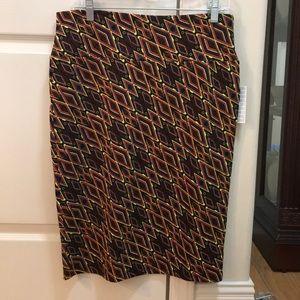 NWT Lularoe Cassie pencil skirt size L